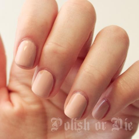 Nail polish swatch - manicure with Illamasqua Monogamous